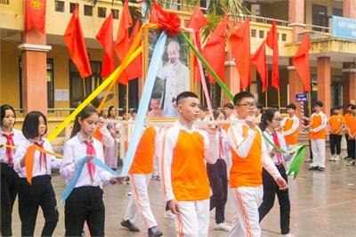Trường THCS Tả Thanh Oai tổ chức Ngày hội Tiến bước lên Đoàn