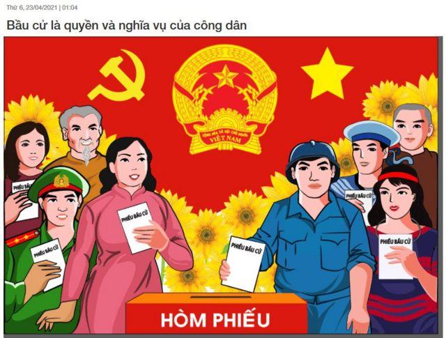 Đoàn thanh niên trường THCS Vạn Phúc phối hợp với Đoàn thanh niên xã Vạn Phúc tuyên truyền cho công tác bầu cử hội đồng nhân dân các cấp.